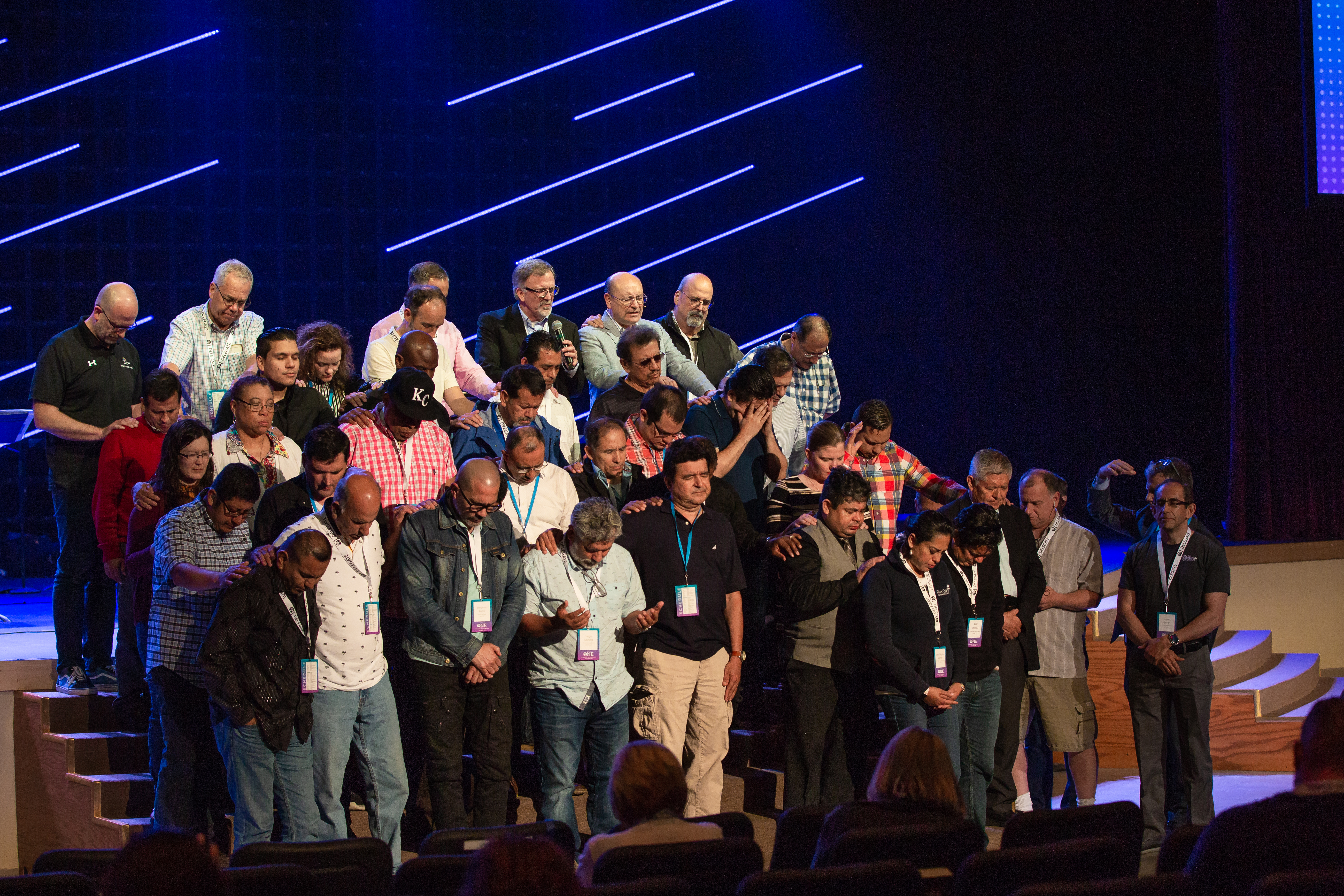 All People Prayer at EFCA One