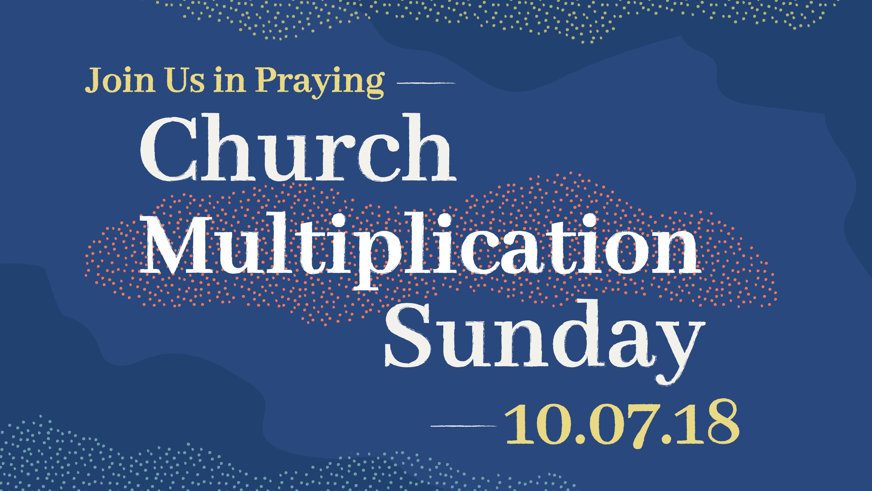 Church Multiplication Sunday