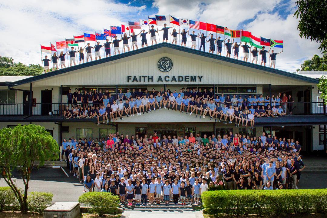 Faith Academy students