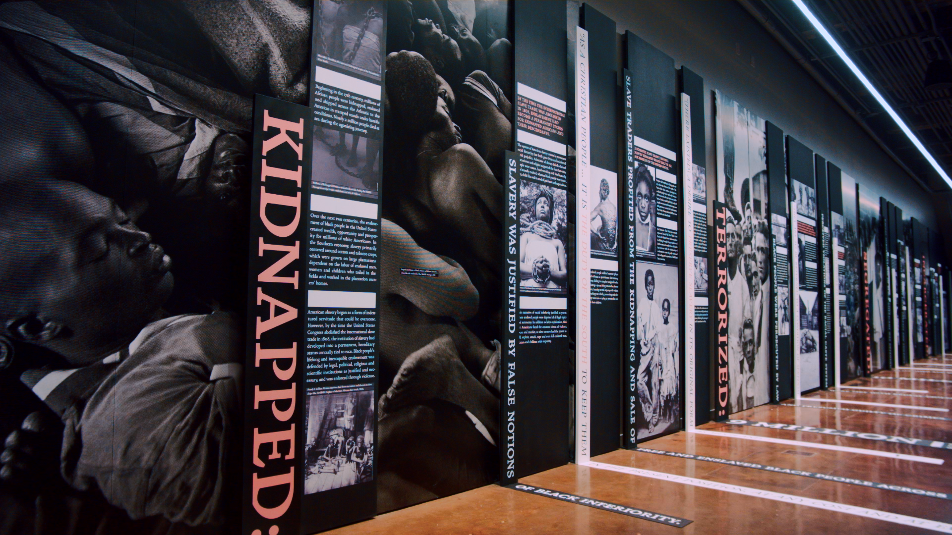 Legacy Museum in Montgomery, Alabama