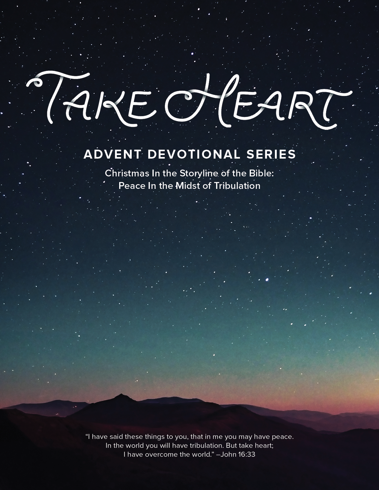 Advent in the Storyline of the Bible: Peace in the Midst of Tribulation